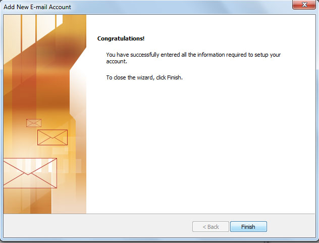 How To Setup Internet Email Accounts In Outlook 2010
